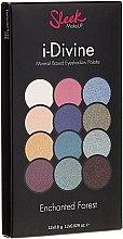Parfumuri și produse cosmetice Paletă de farduri de ochi - Sleek MakeUP i-Divine Mineral Based Eyeshadow Palette Enchanted Forest