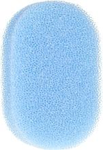 Parfumuri și produse cosmetice Burete anticelulitic de duș, albastru - Inter-Vion