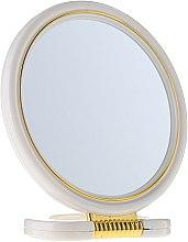 Parfumuri și produse cosmetice Oglindă cometică, 5039, albă - Top Choice