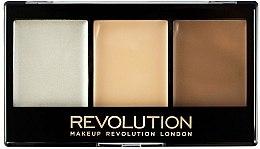Parfumuri și produse cosmetice Paletă pentru conturing - Makeup Revolution Ultra Cream Contour Kit