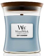 Parfumuri și produse cosmetice Lumânare aromatică - WoodWick Hourglass Candle Soft Chambray