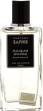 Parfumuri și produse cosmetice Saphir Parfums Acqua Uomo - Apă de parfum (tester cu capac)