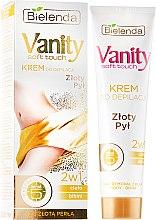 Parfumuri și produse cosmetice Cremă depilatoare 2 în 1 pentru toate tipurile de piele - Bielenda Vanity Soft Touch Depilatory Cream