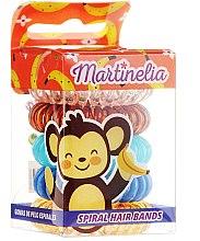 """Parfumuri și produse cosmetice Elastice de păr """"Maimuță"""", 5 bucăți - Martinelia"""