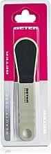 Parfumuri și produse cosmetice Răzătoare ergonomică pentru picioare, ceramică, bej - Beter Beauty Care