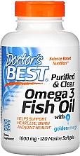 Parfumuri și produse cosmetice Ulei de pește Omega-3 1000mg, Capsule - Doctor's Best Fish Oil Omega 3