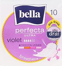 Parfumuri și produse cosmetice Absorbante Perfecta Violet Deo Fresh Soft Ultra, 10buc. - Bella