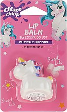 "Parfumuri și produse cosmetice Balsam-Luciu de buze ""Unicorn"", alb - Chlapu Chlap Lip Balm"