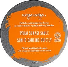 Parfumuri și produse cosmetice Cremă hidratantă cu ulei de portocale și extract de coacăz negru pentru corp - Uoga Uoga Moisturising Body Cream