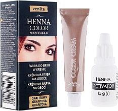 Parfumuri și produse cosmetice Vopsea-cremă henna pentru sprâncene - Venita Henna Color