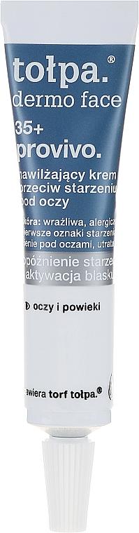 Cremă anti-îmbătrânire pentru zona ochilor - Tolpa Provivo 35+ Anti-Age Eye Cream — Imagine N2