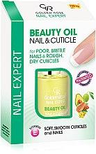 Parfumuri și produse cosmetice Ulei pentru unghii și cuticule - Golden Rose Nail Expert Beauty Oil Nail & Cuticle