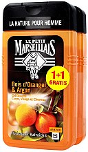 Set - Le Petit Marseillais Orange Tree and Argan Shampoo Shower Gel (shm/gel/2x250ml) — Imagine N1