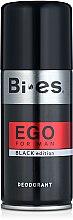 Parfumuri și produse cosmetice Deodorant spray - Bi-es Ego Black
