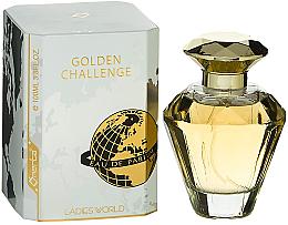 Parfumuri și produse cosmetice Omerta Golden Challenge Ladies World - Apa parfumată