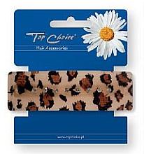 Parfumuri și produse cosmetice Agrafă de păr, print leopard - Top Choice
