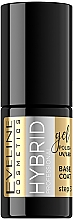 Parfumuri și produse cosmetice Ojă semipermanentă - Eveline Cosmetics Hybrid Professional Base Coat