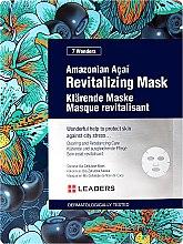 Parfumuri și produse cosmetice Mască de față - Leaders 7 Wonders Amazonian Acai Revitalizing Mask