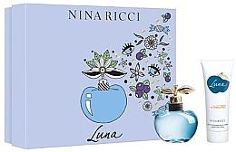 Parfumuri și produse cosmetice Nina Ricci Luna - Set (edt/50ml + b/lot/75ml)