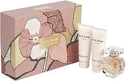 Parfumuri și produse cosmetice Elie Saab Le Parfum Essentiel - Set (edp/50ml + b/lot/75ml + sh/gel/75ml)