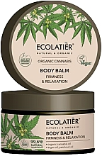 """Parfumuri și produse cosmetice Balsam pentru corp """"Elasticitate și relaxare"""" - Ecolatier Organic Cannabis Body Balm"""