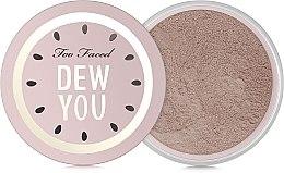 Parfumuri și produse cosmetice Pudră de față - Too Faced Dew You Fresh Glow Translucent Setting Powder