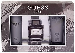 Parfumuri și produse cosmetice Guess 1981 For Men - Set (edt/100ml + sh/gel/200ml + deo/226ml)