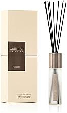 "Parfumuri și produse cosmetice Difuzor aromatic ""Silver Spirit"" - Millefiori Milano Selected Silver Spirit Diffuser"