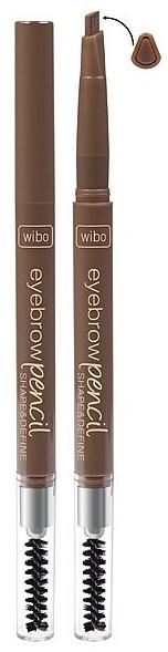 Creion impermeabil pentru sprâncene - Wibo Eyebrow Pencil