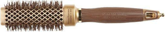 Perie rotundă pentru păr 30 mm - Olivia Garden Nano Thermic Ceramic + Ion Shaper 30 — Imagine N1