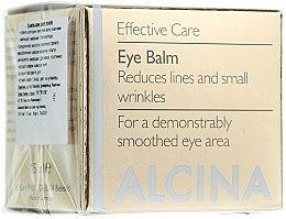 Parfumuri și produse cosmetice Антивозрастной бальзам для век - Alcina E Eye Balm