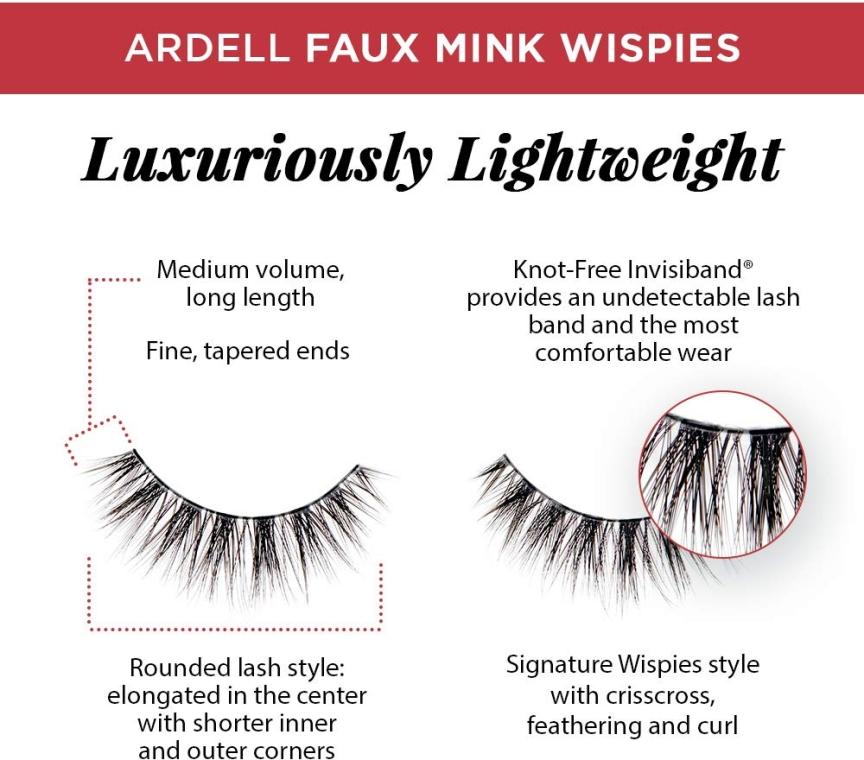 Gene false - Ardell Faux Mink Multipack Wispies — Imagine N2
