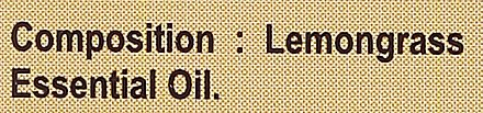 "Ulei esențial ""Lemongrass"" - Sattva Ayurveda Lemongrass Essential Oil — Imagine N4"