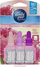 "Parfumuri și produse cosmetice Set ""Trandafir"" - Ambi Pur (refill/3x7ml)"