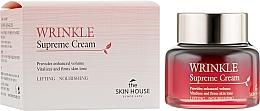 Parfumuri și produse cosmetice Cremă nutritivă cu extract de ginseng - The Skin House Wrinkle Supreme Cream
