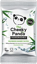 Parfumuri și produse cosmetice Șervețele umede - The Cheeky Panda Biodegradable Bamboo Handy Wipes