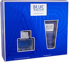Parfumuri și produse cosmetice Blue Seduction Antonio Banderas - Set (edt/50ml + a/sh/b/50ml)