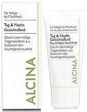 Parfumuri și produse cosmetice Fluid facial de zi și noapte - Alcina FM Day and Night Facial Fluid