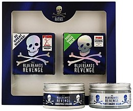 Parfumuri și produse cosmetice Set - The Bluebeards Revenge (balm/100ml+cr/100ml)