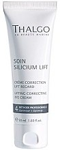 Parfumuri și produse cosmetice Cremă-lifting pentru pleoape - Thalgo Silicium Regard Eye Cream