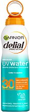 Parfumuri și produse cosmetice Spray revigorant cu aloe vera pentru protecție solară - Garnier Delial Ambre Solaire UV Water Refreshing Protective Mist SPF30