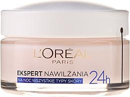 """Cremă de noapte pentru față """"Expert în hidratare"""" - L'Oreal Paris Face Cream — Imagine N2"""