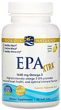 """Parfumuri și produse cosmetice Supliment alimentar, 1640 mg cu aromă de lămâie """"EPK Extra"""" - Nordic Naturals EPK XTRA"""