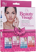 Parfumuri și produse cosmetice Set - Fito Kosmetik Beauty Visage (4xmask/25ml)