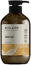 """Parfumuri și produse cosmetice Săpun lichid pentru mâini """"Mandarină și Mentă"""" - Ecolatier Urban Liquid Soap"""
