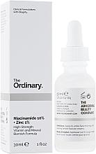 Parfumuri și produse cosmetice Ser cu niacinamidă și zinc pentru față - The Ordinary Niacinamide 10% + Zinc PCA 1%