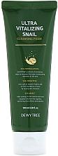 Parfumuri și produse cosmetice Spumă de curățare - Dewytree Ultra Vitalizing Snail Cleansing Foam
