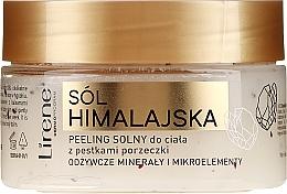 Parfumuri și produse cosmetice Scrub cu boabe de coacăz și sare Himalaya pentru corp - Lirene Dermo Program