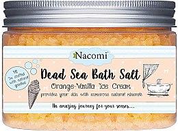 Parfumuri și produse cosmetice Sare de baie de la Marea Moartă cu ulei de macadamia și aromă de vanilie - Nacomi Dead Sea Bath Salt