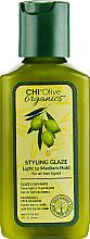 Parfumuri și produse cosmetice Глазурь для укладки волос - Chi Olive Organics Styling Glaze